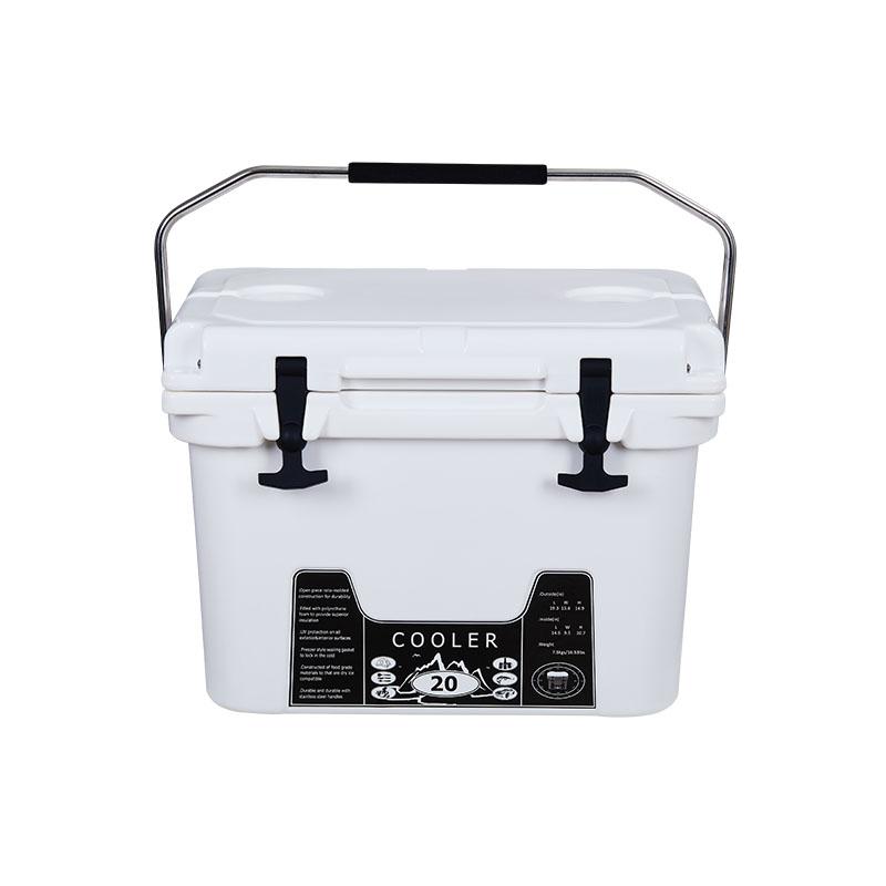 20L白色滚塑冷链箱