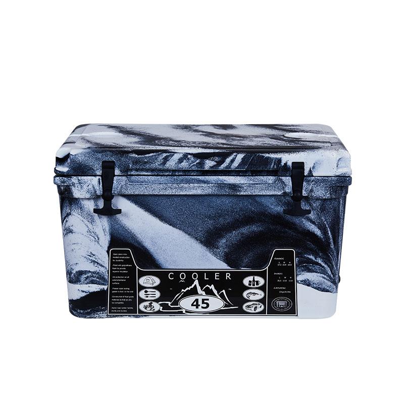 45L 迷彩黑白 冷藏箱