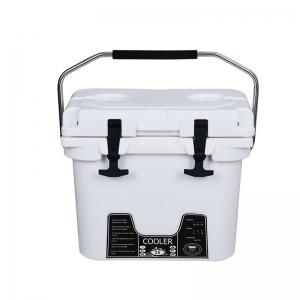15L白色滚塑冷藏箱