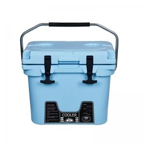 15L蓝色滚塑冷链箱