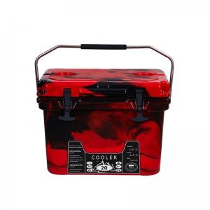 20L 迷彩红 保温保冷滚塑箱